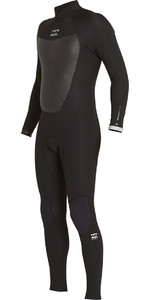 Billabong Absolute Comp 4 / 3mm Zip posteriore Muta NERA F44M22