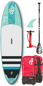 2019 Fanatic Diamond Air 10'4 Aufblasbares SUP-Paket 1133 - Blau