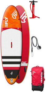 "2018 Fanatic Fly Air Premium SUP 10'4 ""X 33"" INC Bag, Pump & Leash"