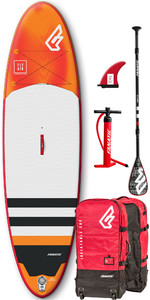 2019 Fanatic Fly Air Premium 10'4 Aufblasbares Sup Paket 1132-2 - Orange