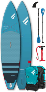 "2020 Fanatic Ray Air 12'6 ""pacote Inflável Sup - Board, Bag, Pump & Paddle"