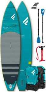 "2020 Fanatic Ray Air Premium 11'6 ""aufblasbares Sup-Paket - Board, Tasche, Pumpe & Carbon 25 Paddel"