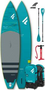 "2020 Fanatic Ray Air Premium 13'6 ""aufblasbares Sup-Paket - Board, Tasche, Pumpe & Carbon 35 Paddel"
