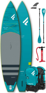 "2020 Fanatic Ray Air Premium 11'6 ""aufblasbares Sup-Paket - Board, Tasche, Pumpe & Carbon 35 Paddel"