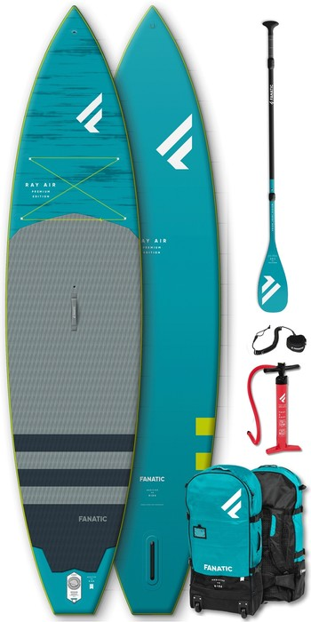 2020 Fanatic Ray Air Premium 13'6 Inflatable SUP Package