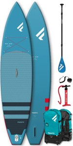 "2020 Fanatic Ray Air 11'6 ""Pack Pure Sup Gonflable - Planche, Sac, Pompe Et Pagaie"