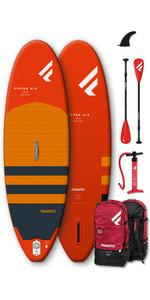 """2020 Fanatic Ripper Air 7'10 """"aufblasbares Sup-Paket - Board, Tasche, Pumpe & Paddel"""