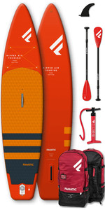 2020 Fanatic Ripper Air Touring 10 'Pack Sup Gonflable - Planche, Sac, Pompe Et Pagaie
