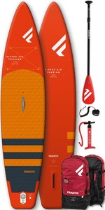 2020 Fanatic Ripper Air Touring 10 'paquete Inflable De Sup - Tabla, Bolsa, Bomba Y Paleta