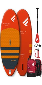 "2021 Fanatic Ripper Air 7'10 ""pacote Inflável Sup - Board, Bag, Pump & Paddle"