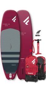 2020 Fanatic Stubby Air Premium 8'6 Sup Pack Gonflable, Planche, Sac Et Pompe