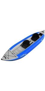 Kayak inflable de alta presión 2019 Z-Pro Flash 2 Man azul FL200 - solo kayak