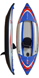 Kayak Inflable De Alta Presión Z-pro Flash 1 Man Fl100 - Solo Kayak