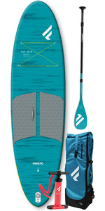2021 Fanatic Fly Air Pocket 10'4 Sup Pakket - Carbon 35 Peddel 13200-1760
