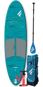 2021 Fanatic Fly Air Pocket 10'4 Sup-pakket - Pure Paddle 13200-1761
