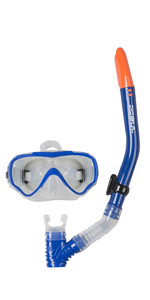 2019 Gul Junior Tarpon Maske & Schnorchel Set In Blau / Schwarz Gd0002