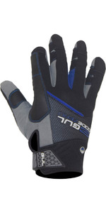 2021 Gul Junior Cz Winter Full Finger Glove Negro Gl1238-b6