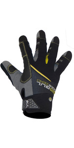 2020 Gul Junior CZ Summer Full Finger Glove Black GL1239-B6