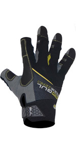 2020 Gul CZ Summer 3-Finger Glove Black GL1241-B6