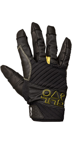 2018 Gul EVO Pro Full Finger Sailing Glove Black GL1301-B4