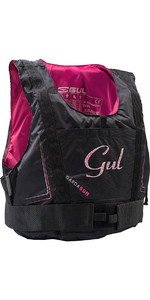 2020 Gul Womens Garda 50N Buoyancy Aid BLACK / PINK GM0162-A7