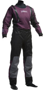 Gul Womens Code Zero U-ZIP Drysuit Black / Plum GM0373