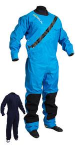 2019 GUL Dartmouth ECLIP Zip Drysuit Bleu GM0378-B5 GRATUIT AVEC undersuit
