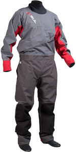 Gul Dartmouth Eclip Zip Drysuit CHARCOAL / RED GM0378 - VAREHOUSE 2ND