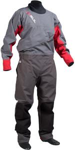 Gul Dartmouth Eclip Zip Drysuit CHARCOAL / RED GM0378 - MAGAZIJN 2ND