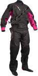 2019 GUL Kvinder Dartmouth Drysuit Sort / Pink GM0383-B5 MED UNDERFLEECE