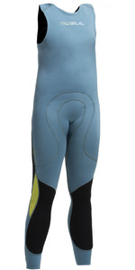 2020 Gul Code Zero Junior 1mm Flatlock Long John Wetsuit Pewter Cz4315 -b2
