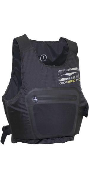 2018 GUL Junior Code Zero Evo Buoyancy Aid NEGRO GM0379-A9