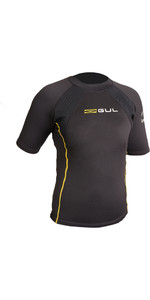 2020 GUL Evotherm Junior Thermal Short Sleeve Top BLACK EV0063-B3