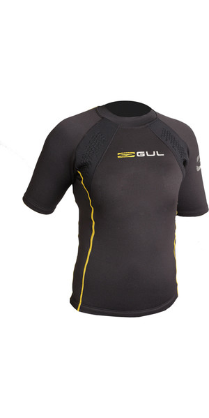 2019 GUL Evotherm Junior Thermal Kurzarm Top SCHWARZ EV0063-B3