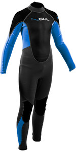 Traje De Neopreno 2020 Gul Junior Response 3/2mm Back Zip Re1322-b7 - Gris / Azul