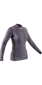 2020 GUL Womens Code Zero 10mm Thermo Top AC0112-B7 - Grey