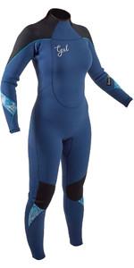 2020 Gul Frauen Response 5/3mm Back Zip Neoprenanzug Re1229-b8 - Blau / Schwarz