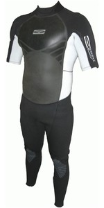 GUL Profile 3/2mm S / S  Wetsuit GBS Sealed Seam Silver / Black pr2202 - 2ND
