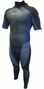 GUL Profile 3/2mm Short Sleeved GBS Wetsuit BLACK / SLATE PR2201 - 2ND