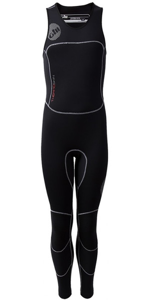 2019 Gill THERMOSKIN Junior GBS SKIFF SUIT 4 / 3mm Noir 4614J