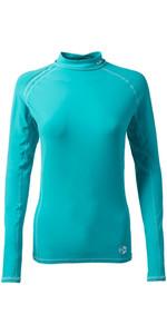 2018 Gill Womens Pro Long Sleeve Rash Vest AQUA 4430W