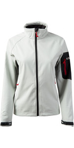 2019 Gill Womens Team Softshell Veste ARGENT 1613W
