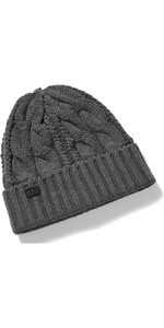 2021 Gill Cable Knit Beanie HT32 - Graphite Melange