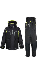 2020 Gill Mens OS1 Offshore Ocean Jacket & Trouser Combi Set - Graphite