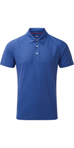 2019 Gill Herren Uv Tec Poloshirt Blau Uv008