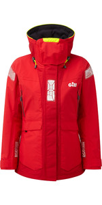 2019 Gill OS2 Womens Offshore Jacket Red OS24JW