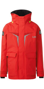 2021 Gill Junior Coastal OS3 Jacket RED OS31JJ