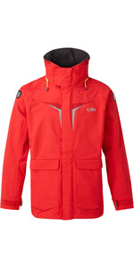 2020 Gill OS3 Mens Coastal Jacket BRIGHT RED OS31J