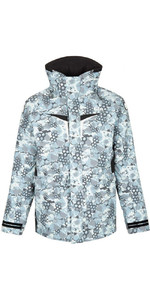 2019 Gill OS3 Mens Coastal Jacket Blue Camo OS31J