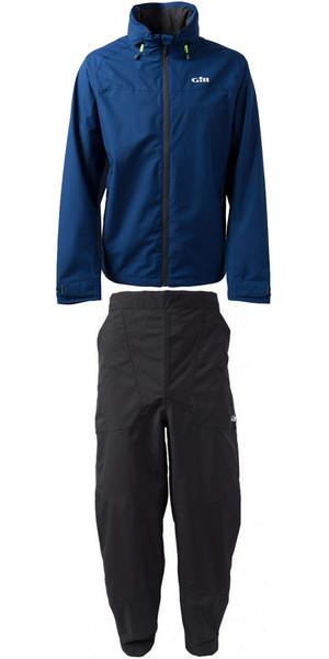 2019 Gill Pilot Jacket IN81J y pantalón IN81T Combi Set azul oscuro / grafito